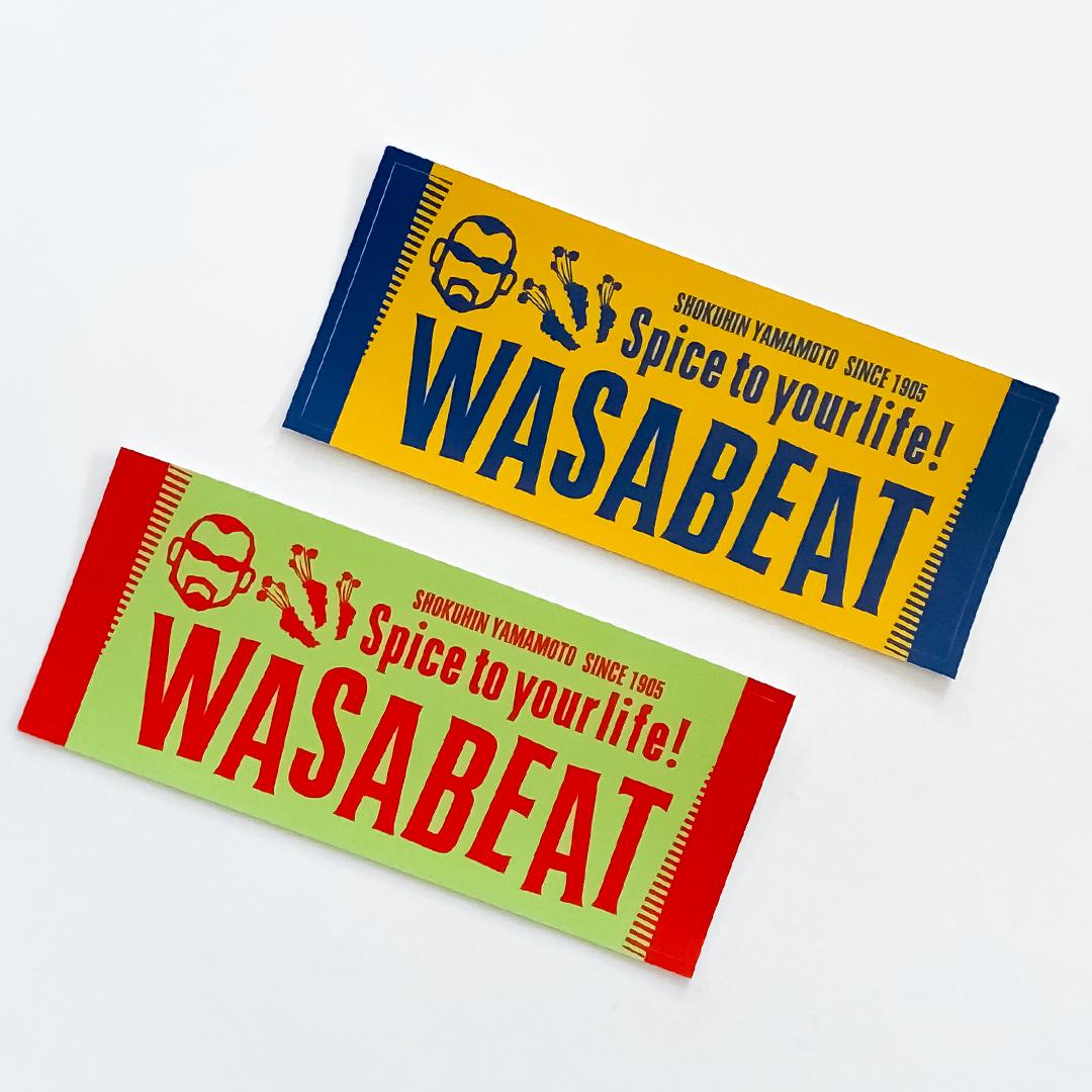 WASABEATステッカー2枚セット
